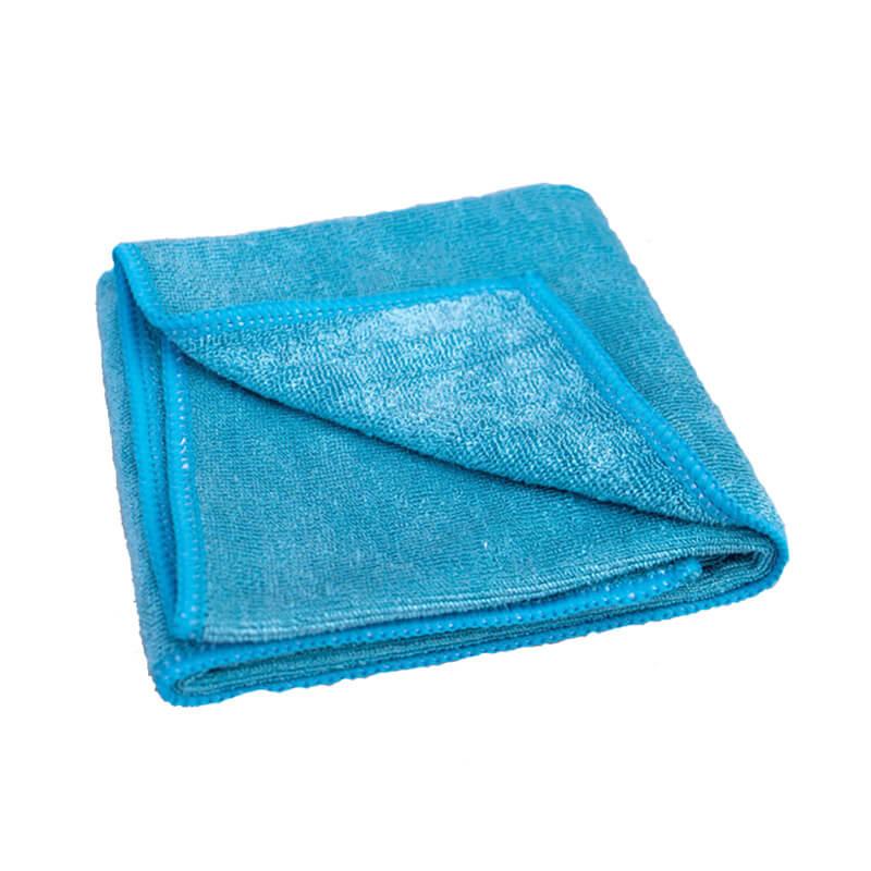 Microfaser Stretchtuch blau