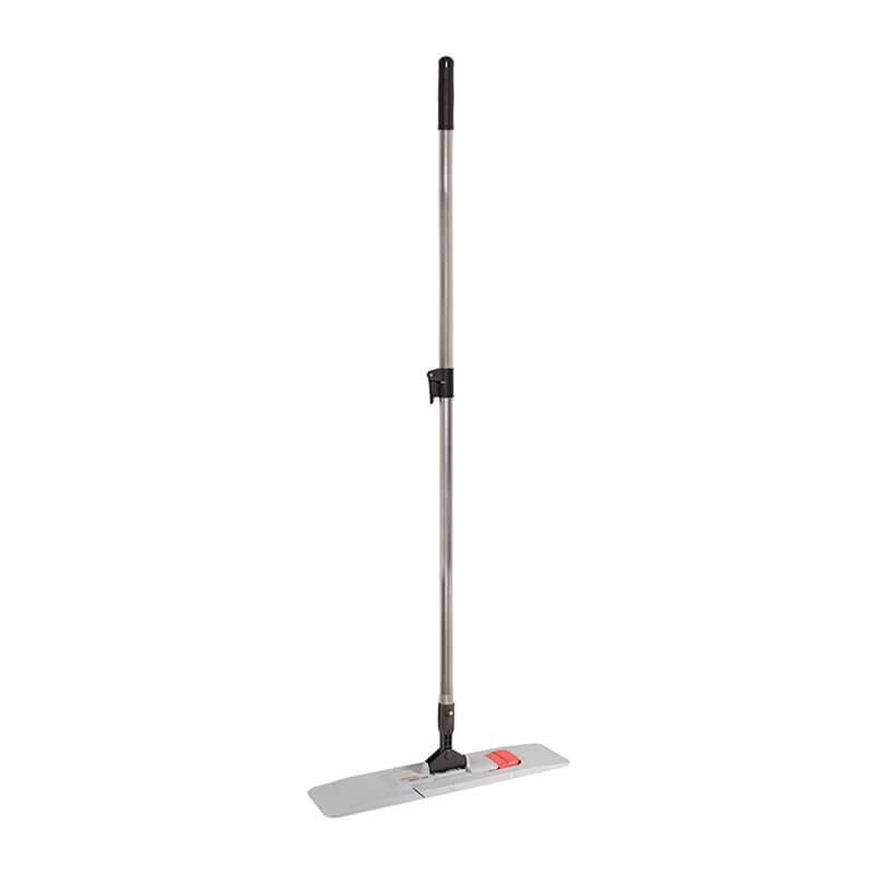 Magnetklapphalter & Stiel mit Wischmopps [40 cm]