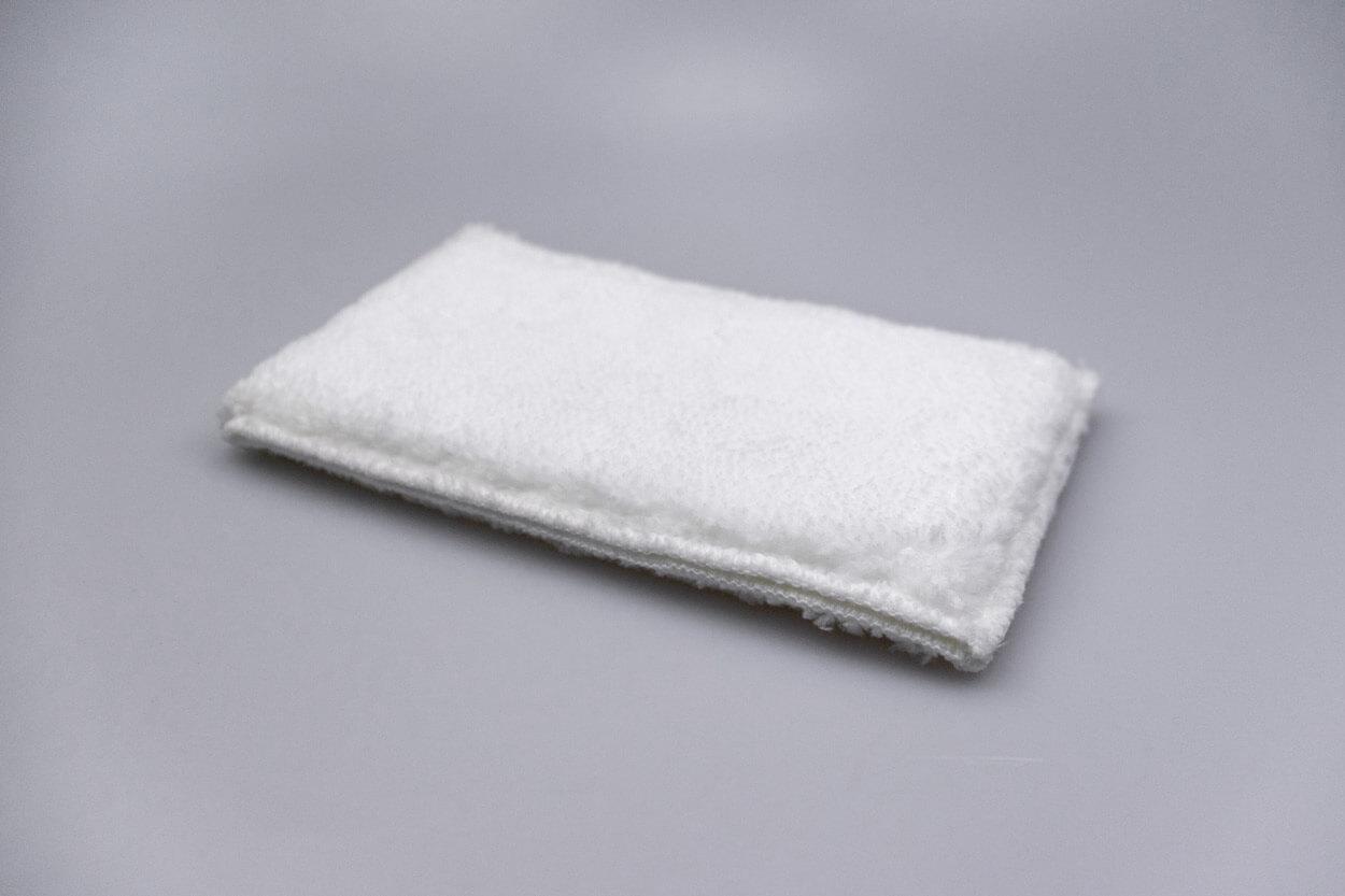Microfaser-Pad weiß