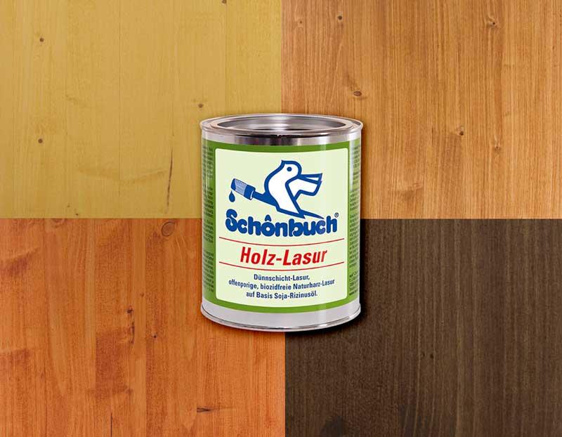 Schönbuch Holzlasur farbig
